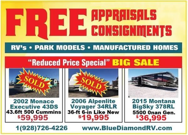 Photo Blue Diamond Used RV Consignment Dealer (Yuma, AZ.)