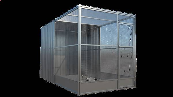 Photo Cattery  Aviary 639W x 1239D x 7quotH Enclosed 50 - $1869 (Hesperia, CA)