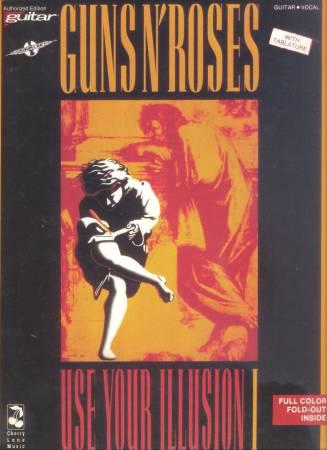 Photo Guns N Roses Use Your Illusion I  II Tab Book (NEW) - $50 (san diego)
