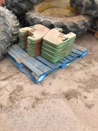 Photo John Deere Tractor weights - $50 (El Centro CA)