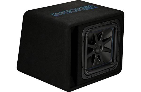 Photo Kicker 44VL7S122 Ported enclosure with one Solo-Baric L7S Series 2-ohm - $299 (car audio one in 3rd ave chula vista)