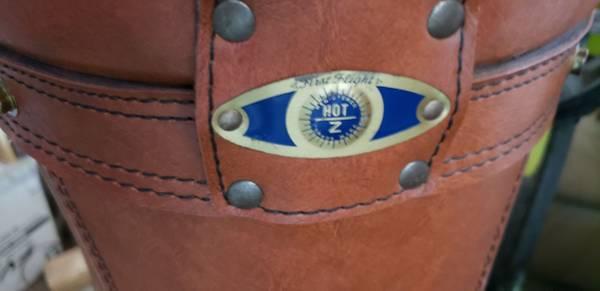 Photo Leather Golf Bag - $60 (Yuma)