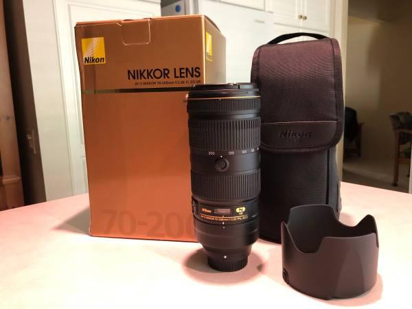 Photo Nikon 70-200 - $1,100 (Rancho Bernardo)