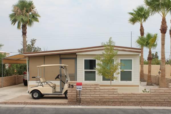 Photo Park Model with AZ Room, Lot 25, Country Roads Yuma (Country Roads, Yuma)