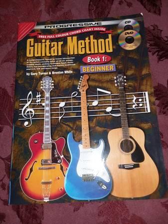 Photo Progressive Guitar Method Book  DVD  CD - $5 (Carlsbad  Oceanside)