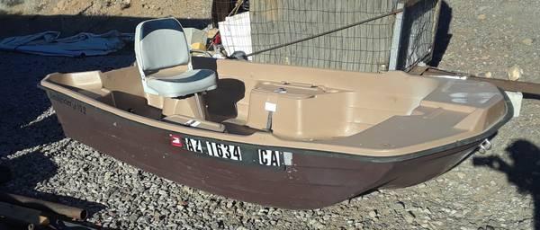 Photo Sell or Trade nice Pelican Basstender 10.2 Boat - $575 (Kingman)