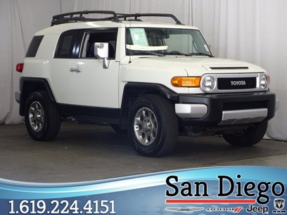 Photo Used 2012 Toyota FJ Cruiser 2WD for sale