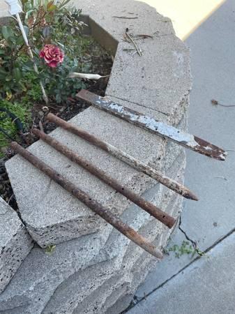Photo steel stakes (el cajon)