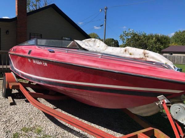 Photo 1990 2139 Baja 190 ES Boat w Mercury Mercruiser 4.3 Litre LX Alpha One V-6 - $2,500 (Baltimore)
