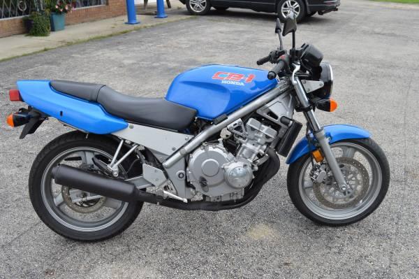 Photo 1990 Honda CB1 CB400F - $2,500 (KC Cycle 1067 National Rd SE Hebron, OH)