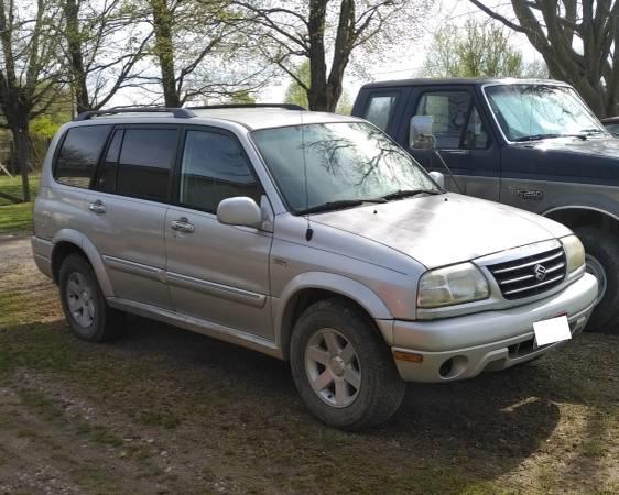 Photo 2002 suzuki xl-7 for parts or repair - $600 (new lex)