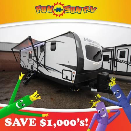 Photo 2021 Flagstaff Super Lite 29RBS Travel Trailer RV Cer - $35,292