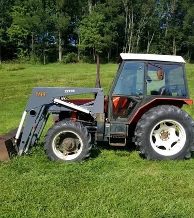 Photo 6245 Zetor 4x4 Tractor - $12000 (Claysville, PA)
