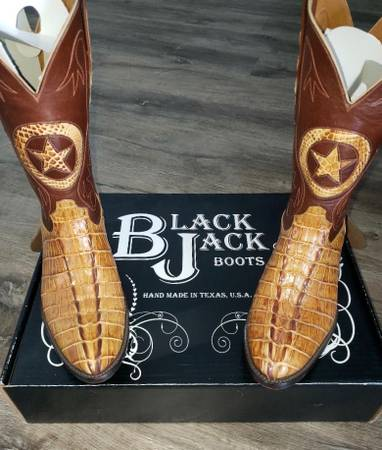 Photo Black Jack Caiman Western Cowboy Boots - $500 (Mansfield, OH)