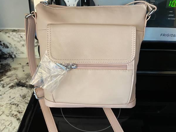 Photo New Giani Bernini leather crossbody purse - $25 (Westerville)