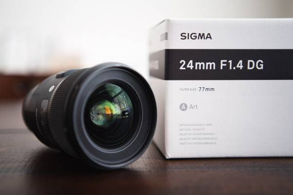 Photo Sigma 24mm f1.4 Art Series Lens - for Sony E-mount - $600 (Dublin)