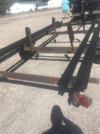 Photo Used Pontoon Boat Trailers-several to sell - $900 (Indian Lake Ohio)