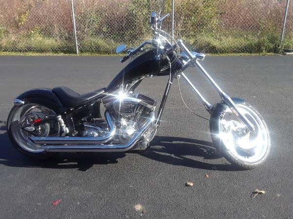 Photo may trade ... Big Dog chopper ...., Harley Roadking - $7,500 (galloway)